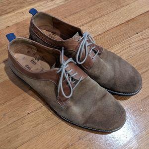 Aldo brown suede shoes, Men's size 9